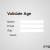 Thumbnail image for JavaScript to Validate Age entered by User