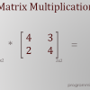 Thumbnail image for Java Program to perform Matrix Multiplication