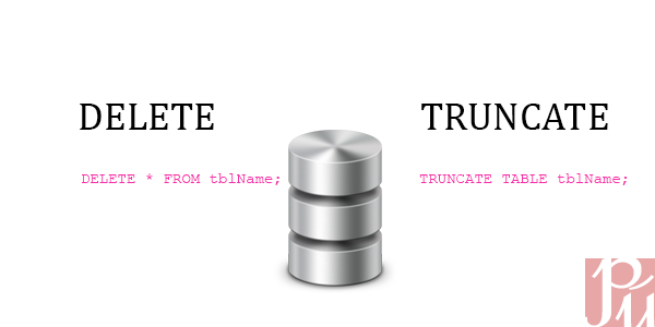 Post image for Difference between Delete and Truncate Commands