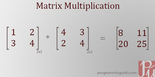 Post image for Java Program to perform Matrix Multiplication